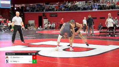 174 lbs Prelims - Devin Skatzka, Minnesota vs Eric Yang, Northwestern