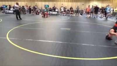 109 lbs Consi Of 16 #1 - Josue Garcia, Team SoCal vs Cole Krutzfeldt, Team Montana