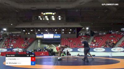 97 kg 7th Place - Jeremiah Imonode, West Point RTC vs Wynn Michalak, TMWC