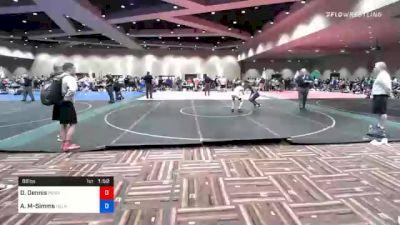 86 lbs Prelims - Daniel Dennis, Pennsylvania vs Al'Kwaughn Murphy-Simms, Delaware