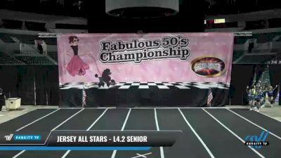 Jersey All Stars - L4.2 Senior [2021 Vixens] 2021 ACP Disco Open Championship: Trenton