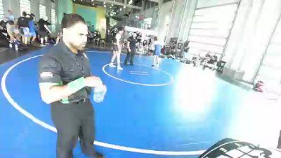 170 lbs Rr Rnd 2 - Lucas Rodriguez, Socal Grappling Club vs Ryder Dearborn, Rbwc