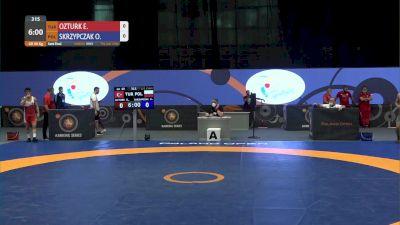 60kg Semi-Final - Ekrem Ozturk, TUR vs Michal Skrzypczak, POL