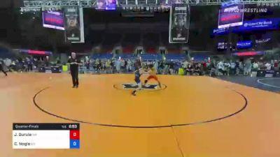 120 lbs Quarterfinal - Jonathan Gurule, New Mexico vs Coleman Nogle, Maryland