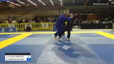 STEPHEN ARLOW FREESTONE vs RAFAEL NOGUEIRA DA GAMA 2020 World Master IBJJF Jiu-Jitsu Championship