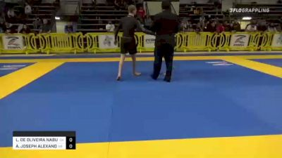 LUCAS DE OLIVEIRA NABUCO DE AR vs ANDREW JOSEPH ALEXANDER 2021 Pan IBJJF Jiu-Jitsu No-Gi Championship