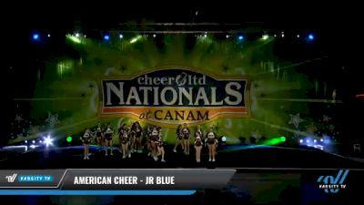 American Cheer - JR BLUE [2021 L2 Junior - Small - B Day 2] 2021 Cheer Ltd Nationals at CANAM