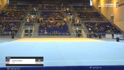 Ciena Alipio - Floor, USA - 2019 City of Jesolo Trophy