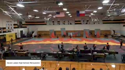 Seven Lakes High School Percussion at 2021 TCGC Percussion Finale - East