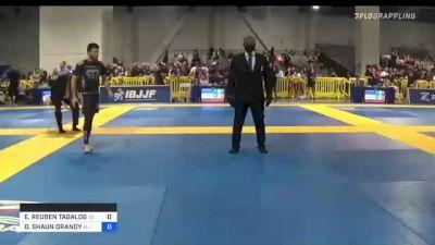 ELIJIAH REUBEN TAGALOG vs DAMION SHAUN ORANDY 2021 American National IBJJF Jiu-Jitsu Championship