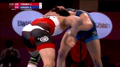 Gold 57kg - Adlan Askarov (KAZ) vs Jahongirmirza Turobov (UZB)