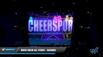 Rock Solid All Stars - SAVIORS [2021 L4 International Open Day 2] 2021 CHEERSPORT National Cheerleading Championship