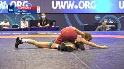 48 kg 1/8 Final - Yuri Karapetyan, Armenia vs Otto Elliot Black, United States