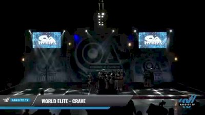 World Elite - Crave [2021 L6 Senior - XSmall Day 1] 2021 COA: Midwest National Championship
