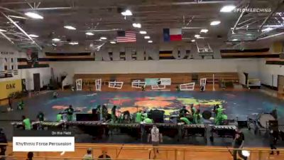 Rhythmic Force Percussion at 2021 TCGC Percussion Finale - East