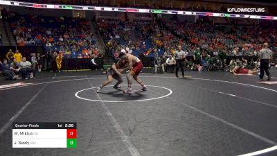 197 lbs Quarterfinal - Willie Miklus, Iowa State vs Jacob Seely, Northern Colorado