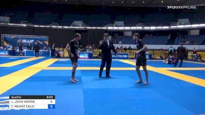 LACHLAN JOHN WARNE vs FABIO MURAT CALOI 2019 World IBJJF Jiu-Jitsu No-Gi Championship