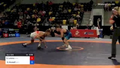 57 kg Consolation - Sam Latona, TMWC / SERTC vs Sean Russell, Gopher Wrestling Club - RTC