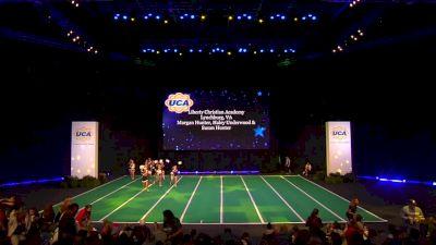 Liberty Christian Academy [2020 Junior High Non Tumbling Game Day Finals] 2020 UCA National High School Cheerleading Championship