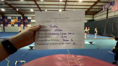 Louisiana Cheer Force - Rose [L1 Junior] 2021MG Extravaganza Virtual Nationals