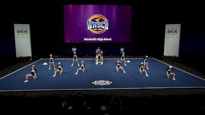 Mandeville High School [2021 Small Coed Non Tumbling Finals] 2021 UCA National High School Cheerleading Championship