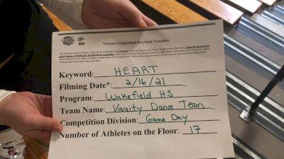 Wakefield High School [Medium Varsity Game Day] 2021 NCA & NDA Virtual February Championship