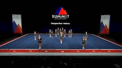Champion Cheer - Radiance [2021 L2 Junior - Small Wild Card] 2021 The Summit