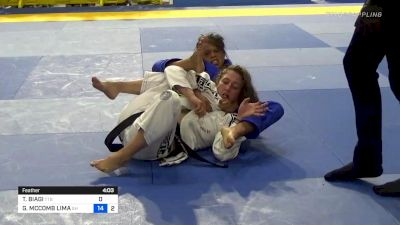 Gabbi McComb Pours On The Pressure In Pursuit Of The Choke