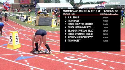Track Life University Breaks 4x100m Record