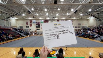 JAGS Cheer Club [Traditional Open Rec Non Affiliated 14 & Younger] 2021 UCA & UDA March Virtual Challenge