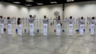 All Access: Bluecoats Brass Play Chord Sequence In Warm-Up On Day 1 of 2021 DCI Celebration