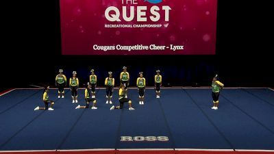 Cougars Competitive Cheer - Lynx [2021 L4 Performance Rec - 8-18 Years (NON) Finals] 2021 The Quest