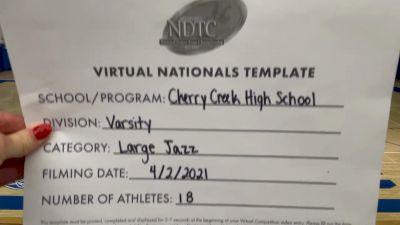 Cherry Creek High School [Virtual Large Varsity - Jazz Semi Finals] 2021 UDA National Dance Team Championship