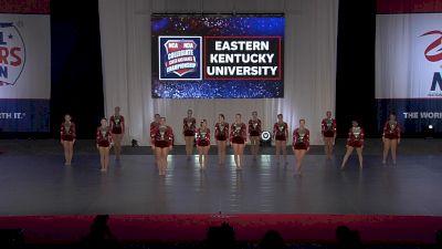 Eastern Kentucky University [2021 Team Performance Division I Prelims] 2021 NCA & NDA Collegiate Cheer & Dance Championship
