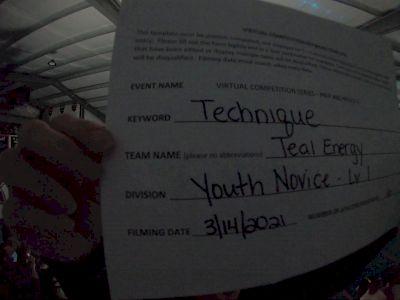 Evolution Cheer [L1 Youth - Novice] 2021 Varsity Virtual Competition Series - Prep & Novice II