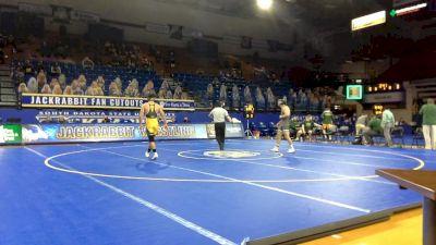 165 lbs Luke Weber, NDSU) vs Koy Wilkinson, Utah Valley