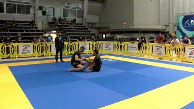 Lucas Hulk Barbosa vs Oliver Taza 2021 Pan IBJJF Jiu-Jitsu No-Gi Championship Flozone