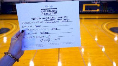 Mississippi Gulf Coast Community College [Virtual Open Jazz Finals] 2021 UCA & UDA College Cheerleading & Dance Team National Championship