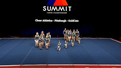 Cheer Athletics - Pittsburgh - GoldCats [2021 L1 Junior - Small Wild Card] 2021 The Summit