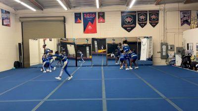 Los Angeles Rams - Code Blue [L2 Performance Rec - Affiliated (14Y)] 2021Varsity Recreational Virtual Challenge III