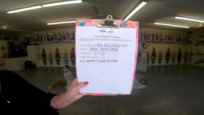 Miss Edie's Dancin Feet [Senior - Contemporary/Lyrical] 2021 UCA & UDA March Virtual Challenge