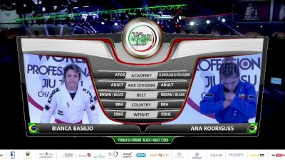 Bianca Basilio vs Ana Rodrigues 2020 Abu Dhabi World Pro