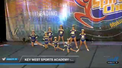 Key West Sports Academy - Twistars Flash F10od [2021 L1 Junior - Non-Building Day 1] 2021 South Florida DI & DII Nationals