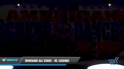 Renegade Allstars - Jr Legendz [2021 L2 Junior - D2 - Medium Day 2] 2021 The American Celebration DI & DII