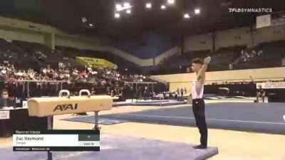 Zac Raymond - Pommel Horse, Temple - 2021 Men's Collegiate GymACT Championships