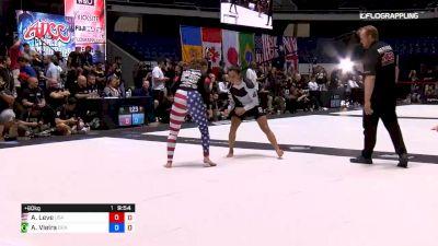 Amanda Leve vs Ana Carolina Vieira 2019 ADCC World Championships