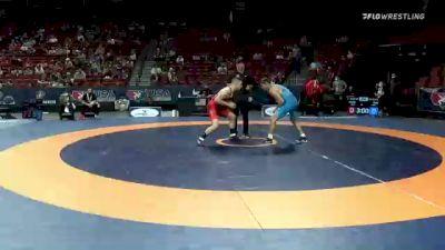 67 kg 3rd Place - Jesse Thielke, Army (WCAP) vs Hayden Tuma, Suples Wrestling Club