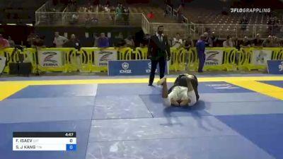 FURKAT ISAEV vs SEONG J KANG 2021 Pan Jiu-Jitsu IBJJF Championship