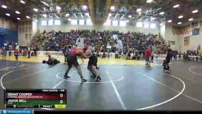 195 lbs Champ. Round 1 - Jadon Bell, CLAY vs Grant Cooper, Cardinal Gibbons High School W