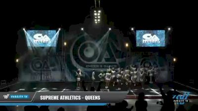 Supreme Athletics - Queens [2021 L6 Senior - Small Day 1] 2021 COA: Midwest National Championship